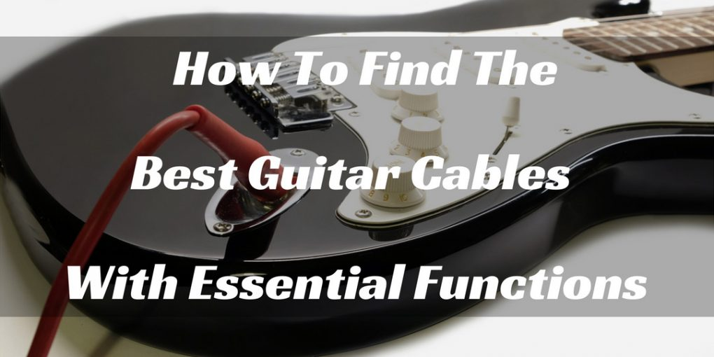 Best Guitar Cables
